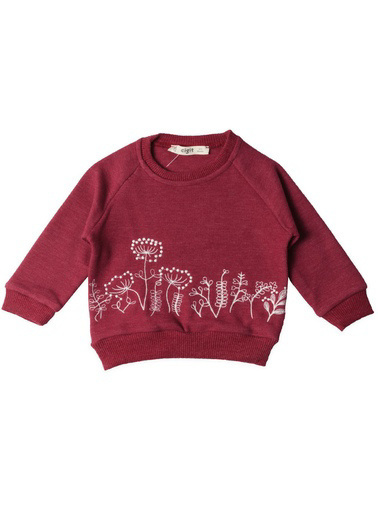 Cigit Sweatshirt Bordo
